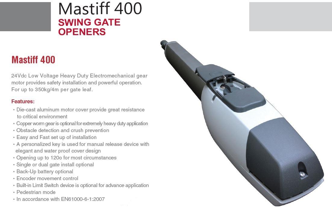Specificatii tehnice TMT Mastiff 400 WiFi