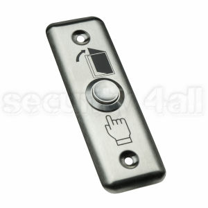 Buton control acces exterior inox ingropat ingust, ACB-2LW