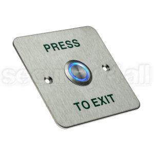 Buton control acces exterior inox panou ingropat cu doza, ACB-400B