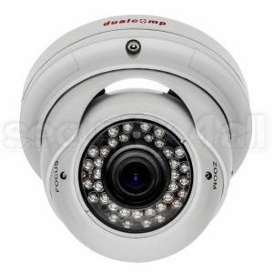 Camera supraveghere, infrarosu, varifocala, 36 LED, dome, metal, 420 linii, alba, Sony CCD, DV-22IR