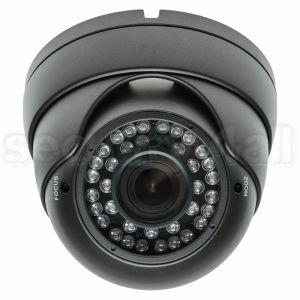 Camera supraveghere, infrarosu, varifocala, 36 LED, dome, 600 linii, metal, alba, Sony CCD, DV-36IR