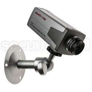 Camera supraveghere box 420 linii, interior, argintie, suport si lentila incluse, CCD-2228
