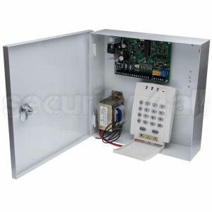 Centrala alarma 10 zone cu tastatura LED si comunicator analogic, PDX 728