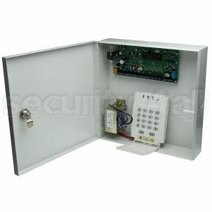 Centrala alarma 16 zone cu tastatura LED si comunicator analogic, PDX 738