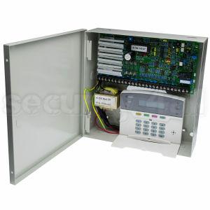 Centrala alarma 8 zone cu tastatura LCD si comunicator analogic, Intellisense 238