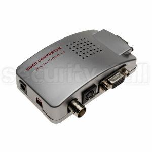 Convertor semnal VGA la semnal video complex, iesiri RCA, CVBS, monitor, VGA-video complex convertor