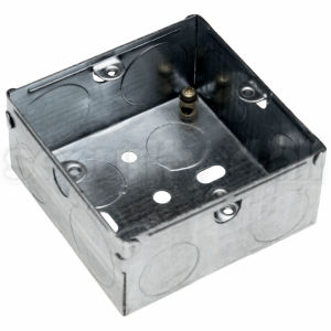Doza metalica pentru buton control acces, M-BB1