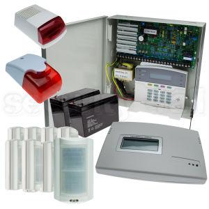 Kit complet sistem de alarma 8 senzori cu comunicator GSM