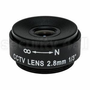 Lentila 2.8mm pentru camera supraveghere, fixa, montura CS, IF-2.8
