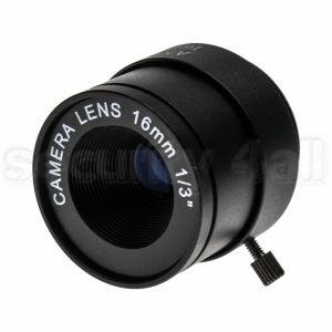 Lentila 16mm pentru camera supraveghere, fixa, montura CS, IF-16