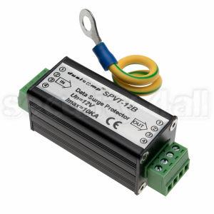 Modul protectie descarcari electrice cablu UTP/FTP, 4 fire, semnal video sau date, SPVT-12B