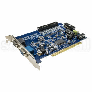 Placa de captura DVR 16 canale video, 1 canal audio, 25 cadre pe placa, Windows, DVR-600