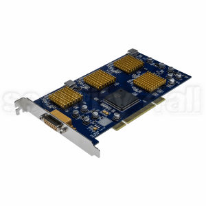 Placa de captura DVR 8 canale video, 1 canal audio, 200 cadre, rezolutie D1, Windows XP, DVR-2388I