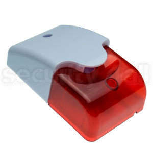 Sirena cu stroboscop alb cu rosu, AUSL-100