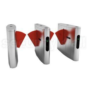Sistem turnicheti electromecanici inox bidirectionali flaps, S4T238FL-YJ