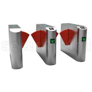 Sistem turnicheti electromecanici inox bidirectionali flaps, S4T238FL-YT