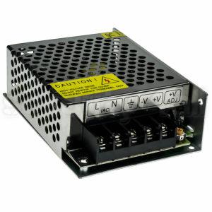 Sursa alimentare 12V 3.5A, cutie metalica, 1 iesire, reglaj tensiune, SMPS 12V 3A