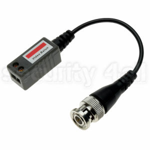 Video balun, adaptor impedanta cablu coaxial-UTP semnal video complex standard, LLT-202A