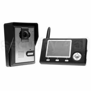 "Videointerfon wireless, post exterior + monitor, ecran LCD 3.5"", acumulator, VKX-3501"