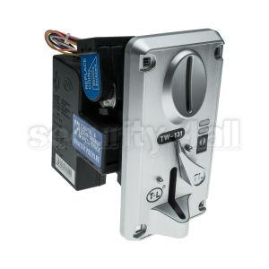 Acceptor de monede pentru sisteme de plata control acces