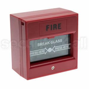Buton de incendiu sau panica, cu geam, rosu sau verde, AUSL-911