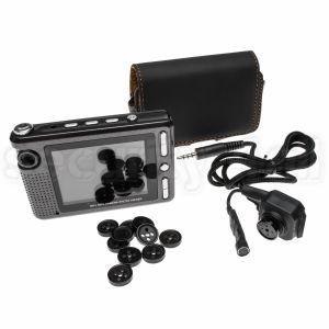 "Camera ascunsa in nasture, portabila, cu DVR, microfon, LCD 2.5"", slot Micro SD, BSC02"
