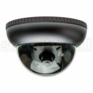 Camera supraveghere anti-vandal dome 420 linii, exterior, argintie, D-6229B