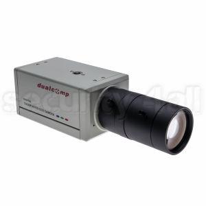 Camera supraveghere box 420 linii, interior, alba, suport si lentila 6-60mm incluse, CCD-2031