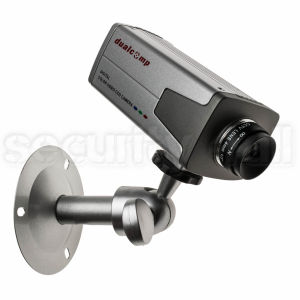 Camera supraveghere box 470 linii, interior, argintie, suport si lentila 4mm incluse, CCD-425