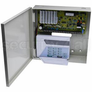 Centrala alarma 6 zone cu tastatura LED si comunicator analogic, Intellisense 236 LED