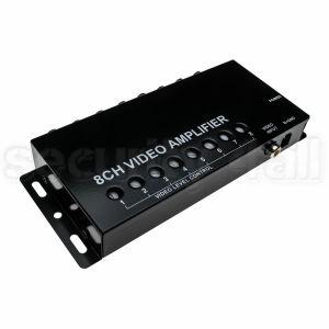 Distribuitor semnal video 1 intrare la 8 iesiri, cu amplificare si reglaj, VB-108