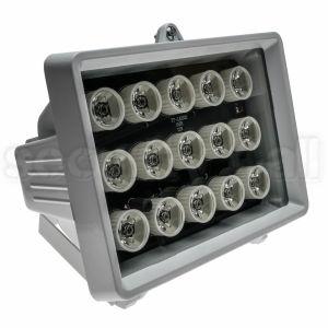 Iluminator infrarosu 60 metri, unghi 40 grade, exterior, senzor lumina, carcasa metal, IR-4015