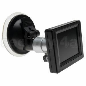 "Monitor miniatura AV 2.5"", PAL/NTSC, RCA, ventuza, M-2543C"