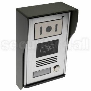 Post exterior videointerfon cu infrarosu, carcasa antivandal, cititor cartele 125 KHz inclus, VDP-118ID