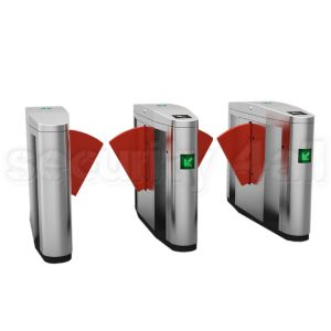 Sistem turnicheti electro mecanici inox, bidirectionali, flaps, S4T238FL-YK
