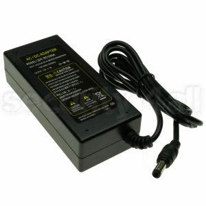 Sursa alimentare incapsulata 12V 5A, 1 iesire, incasetata, ABS, cablu alimentare cu stecher 220V, PS 12V/5A