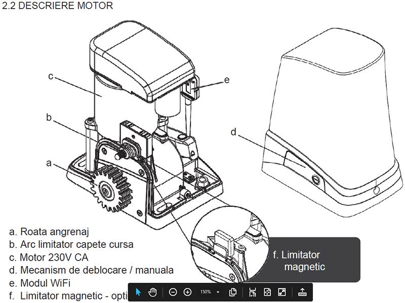 Schita motor
